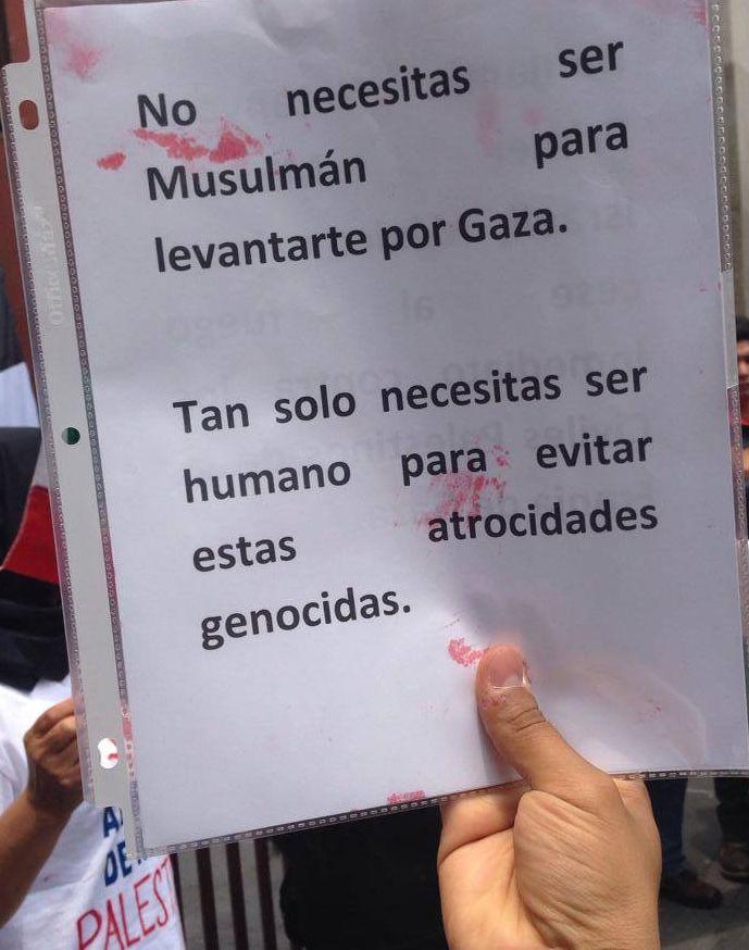 No necesitas ser musulmán para levantarte por Gaza. Tan solo necesitas ser humano para evitar estas atrocidades genocidas