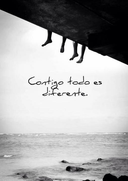 Contigo todo es diferente
