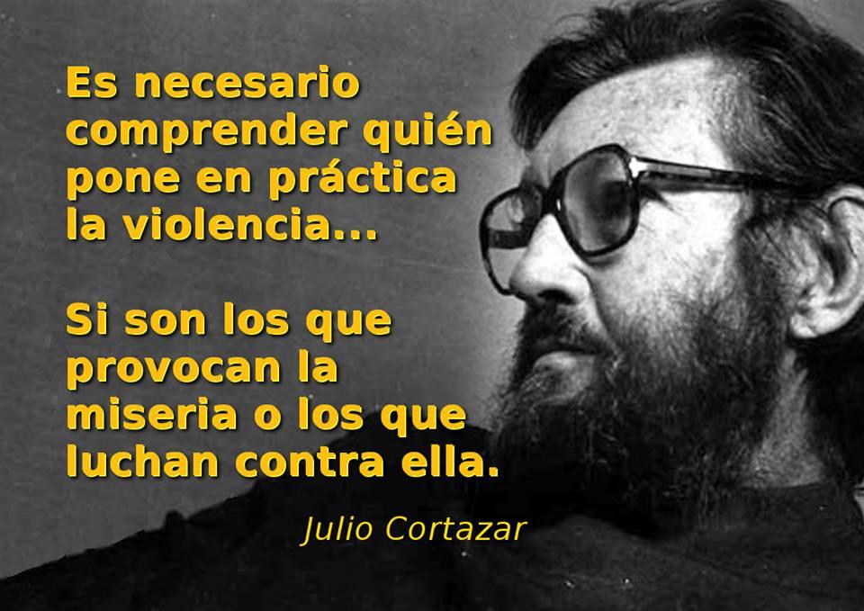 Es necesario comprender quién pone en práctica la violencia si son los que provocan la miseria o los que luchan contra ella
